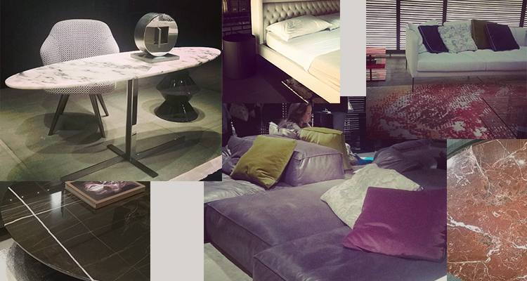 Gezien op de beurs in milaan noort interieur for Interieur trends 2015