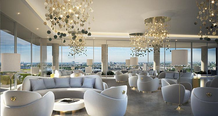 Versace appartementen in Londen | Noort Interieur