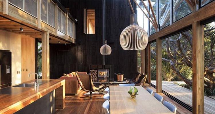 Haal de winter in huis noort interieur